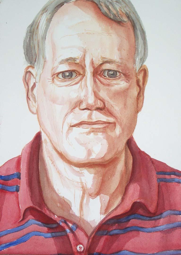 2005 Wilke Pretorius Watercolor Dimensions Unknown