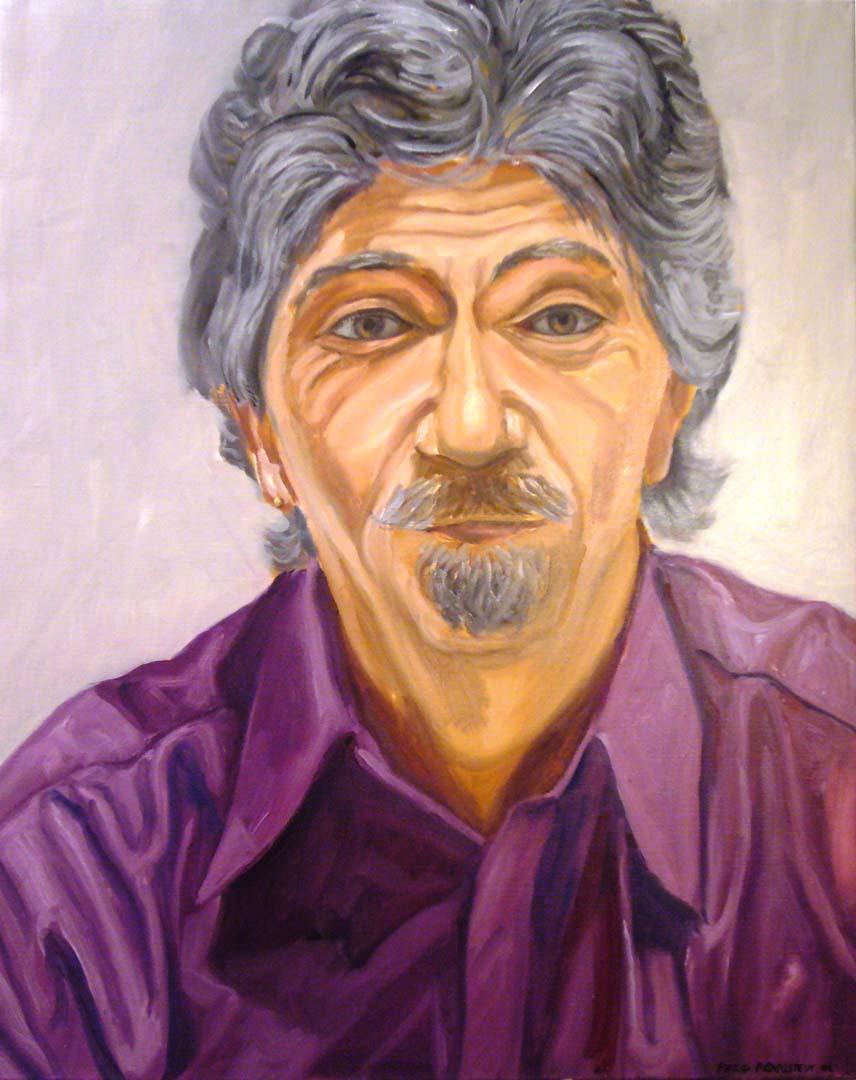 2006 Portrait of Alan Farancz Oil on canvas Dimensions Unknown