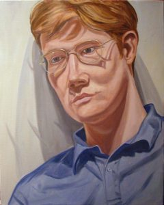 2006 Portrait of Richard Templeton Oil Dimensions Unknown