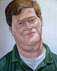 2007 Portrait of Bayard Oil on canvas 30 x 24