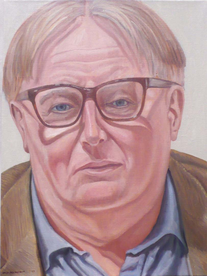 "2009 Portrait of Niel Smith Oil 24"" x 18"""