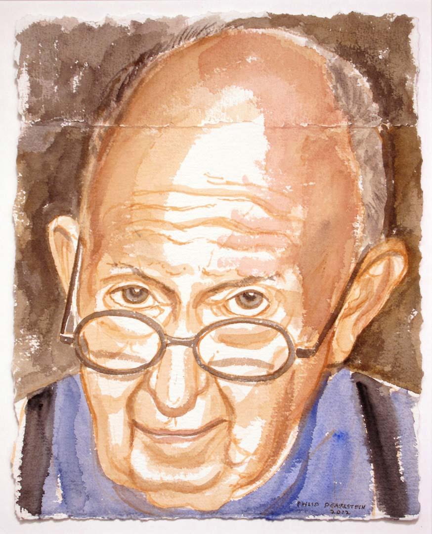 2012 Self Portrait Watercolor 14 x 11