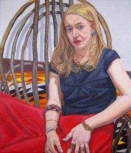 2012 Elizabeth Tamkin Oil 40 x 34