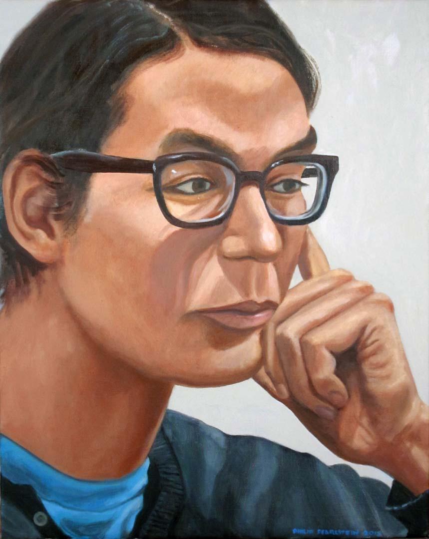 """2013 Osamu Kobayashi Oil 20"""" x 16"""""""