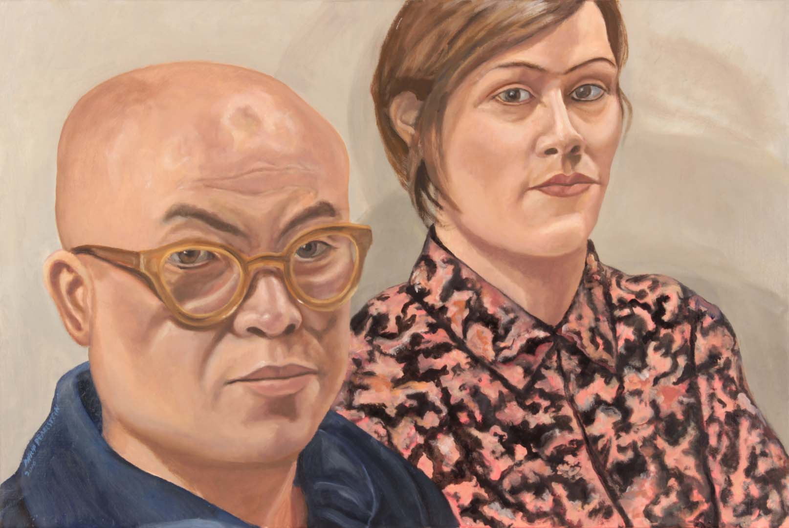 2016 Phong Bui and Nathlie Provosty Oil on Canvas 20 x 30